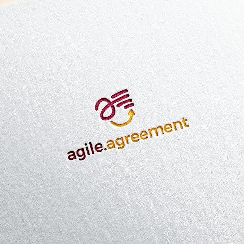 Fun Logo Concept for Agile Agreement