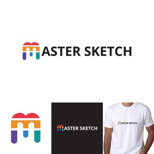 Master Sketch logo design