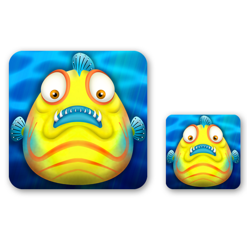 Heavily Marketed Mobile Game Needs An App Icon (My Battle Fish)