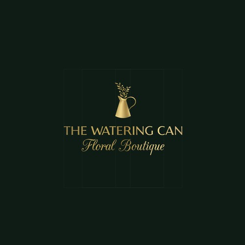 Logo | The Watering Can Floral Boutique