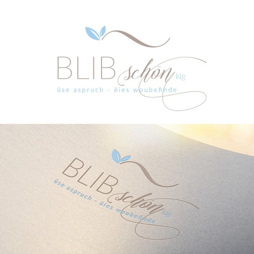 Logo concept for a cosmetic studio