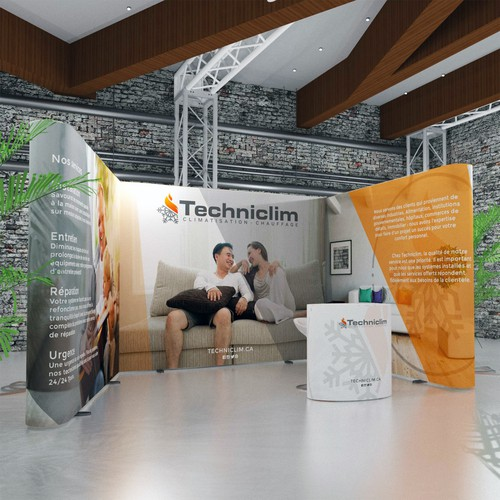 Techniclim Trade Booth Design