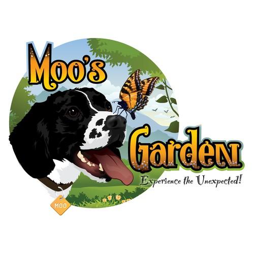 Moo's Garden Logo