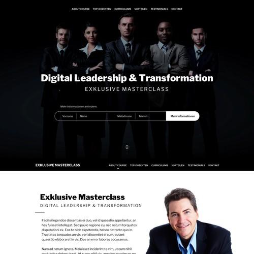 Design concept for Business Class