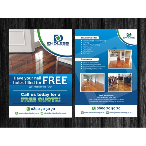 Endless Flooring Flyer