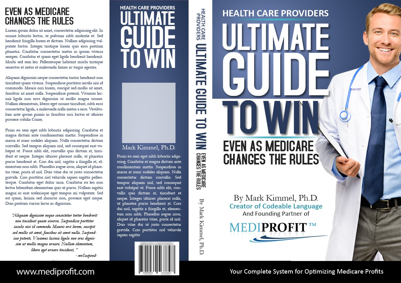 New book or magazine cover wanted for MediProfit