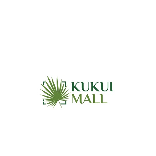 Sign for shopping mall in Hawaii