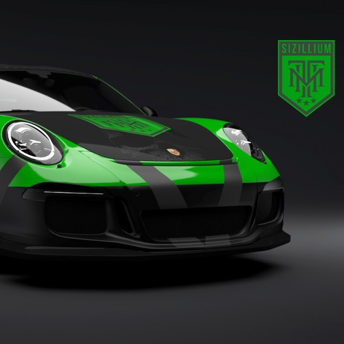 Personal Race Car Livery - Porsche GT3 RS