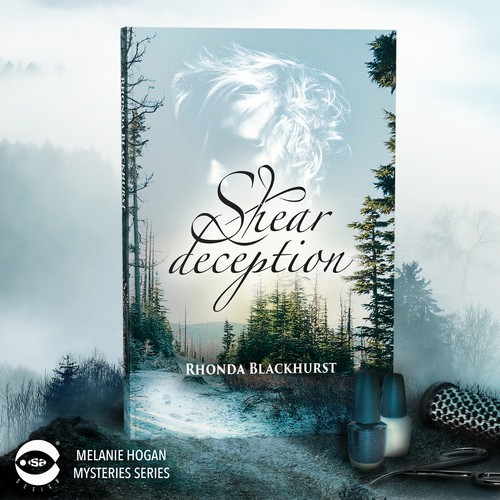 "Book cover for ""Shear Deception"" by Rhonda Blackhurst"