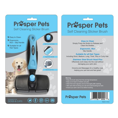 Packaging Design wanted for Pet Grooming Product