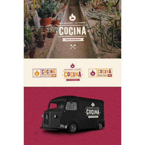 New London-based food truck/stall looking for a logo!