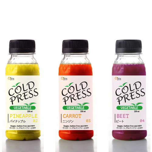 ColdPress Juice | Packaging Design