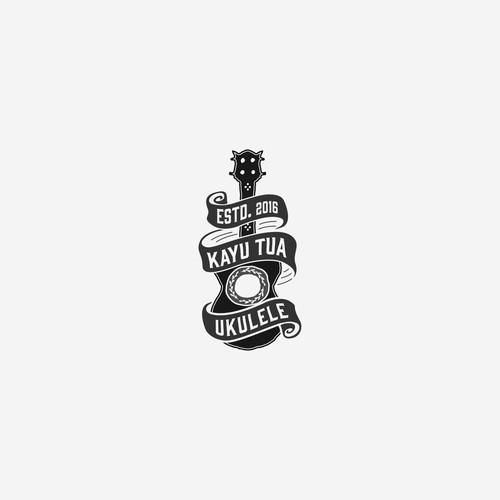 Iconic Logo for Ukulele Store