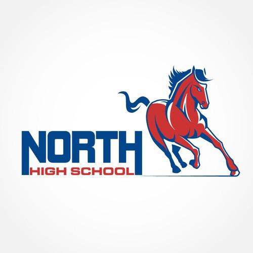 Sports Mascot Logo for Local High School