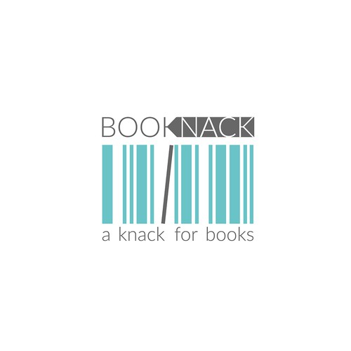 Proposed Logo Concept for BOOKNACK