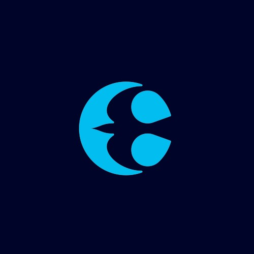 letter C + Bird logo concept