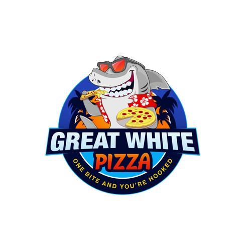 Pizza Shark Logo