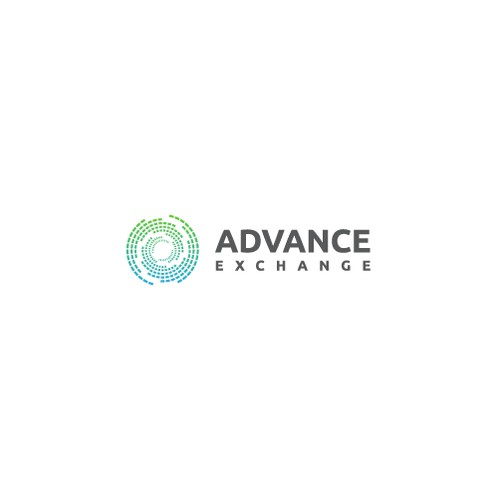 AWESOME logo for ADVANCE EXCHANGE