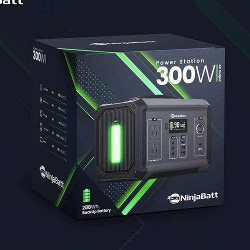 Packaging for a PowerStation
