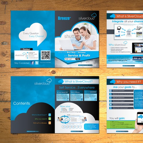 SilverCloud, Inc. needs a new brochure design