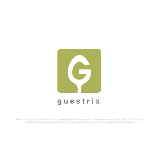 Logo for a restaurant analytics brand