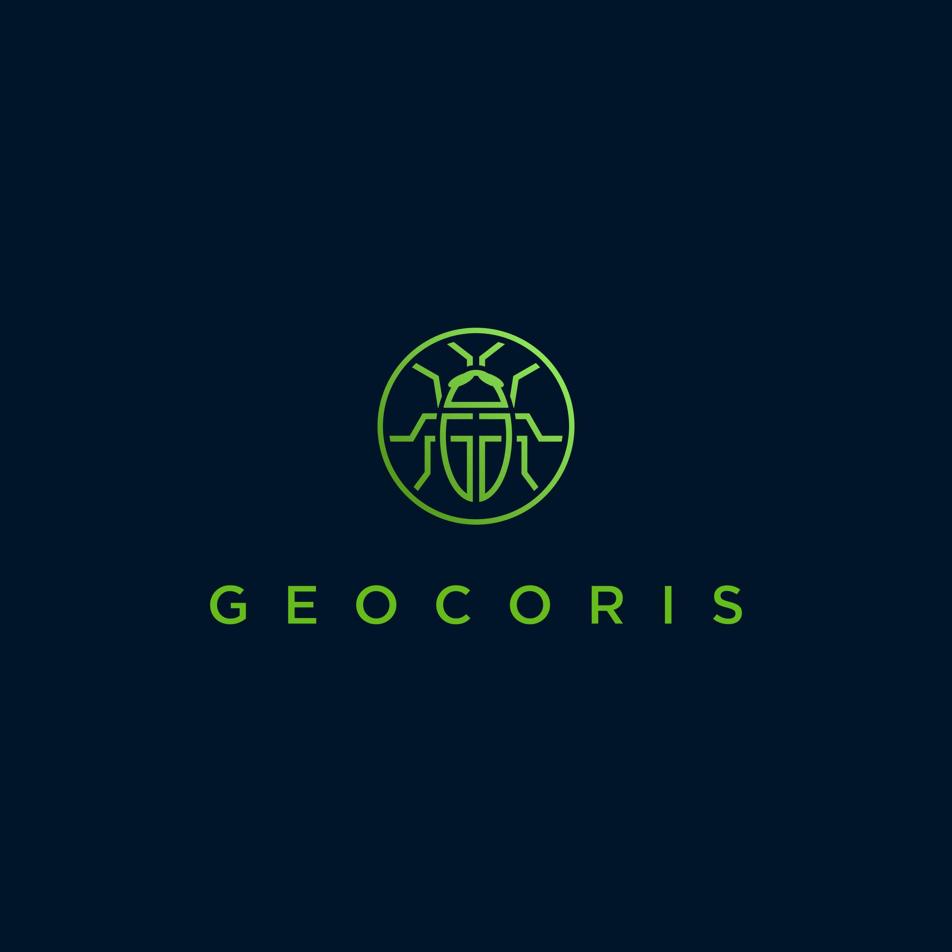 Geocoris Logo - Agricultural equipment co.