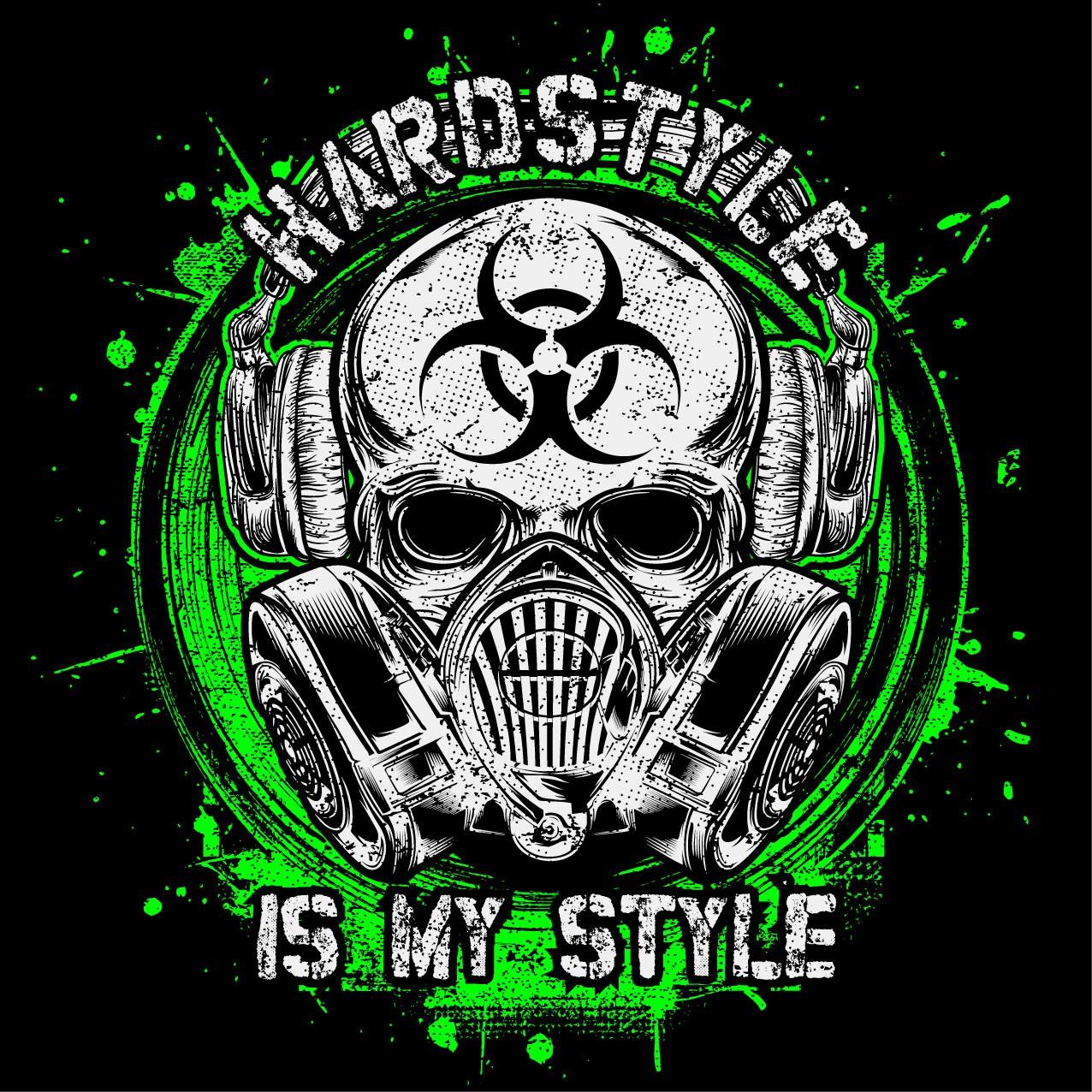 Hardstyle is my style T-Shirt Motiv