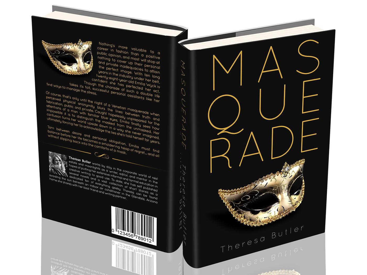 "GUARANTEED! Create Unique Cover for Contemporary Chick Lit Novel ""Masquerade"""