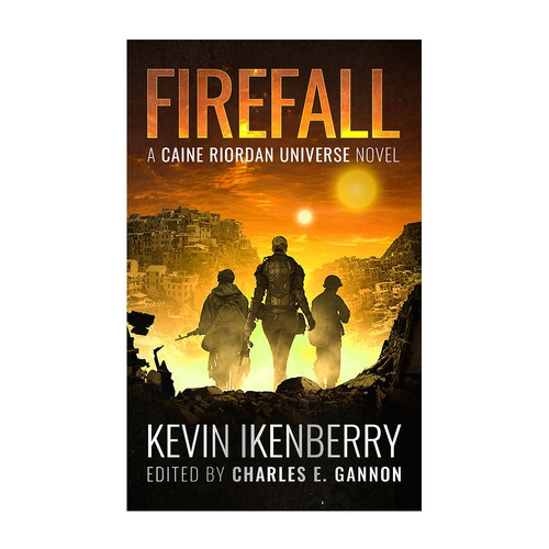 Firefall Book Cover Design