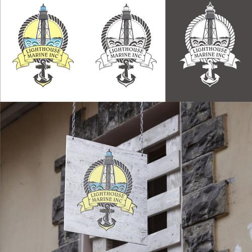 Logo contest for Lighthouse Marine INC