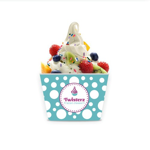 Twisterz Custom Yogurt Cup