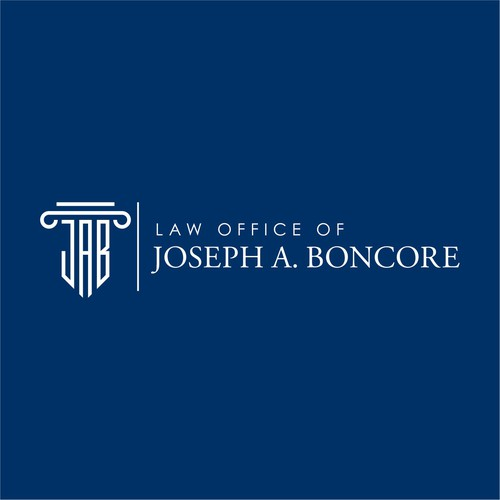 """Criminal defense and personal injury lawyer. Would like a logo that incorporates """"JAB"""" but in abstract way"""