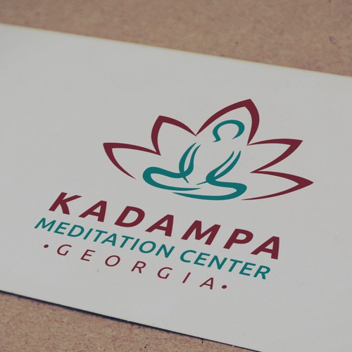 New hip logo for a non profit meditation center