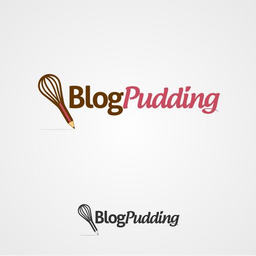 Create the next logo for BlogPudding
