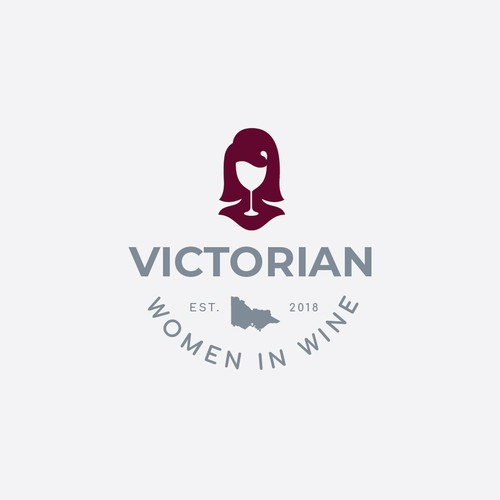 Victorian Women in Wine logo