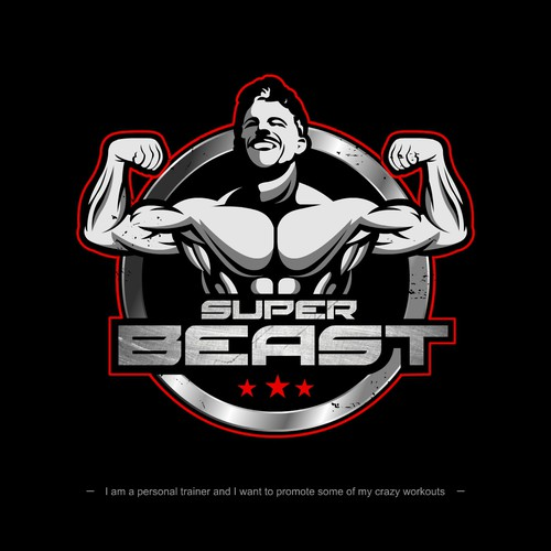 logo for super beast