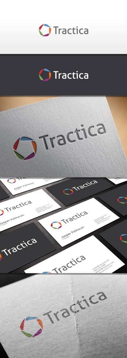 Tractica logo design - emerging technology market intelligence