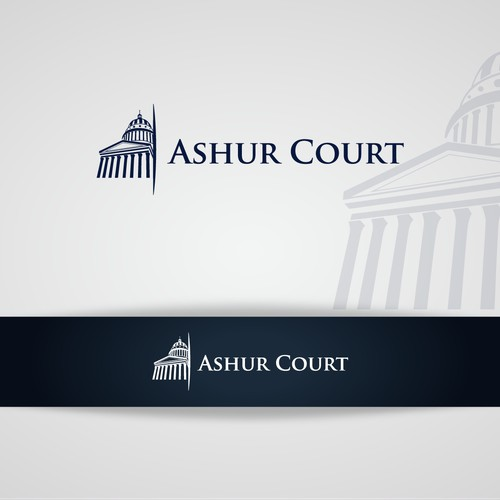 Political and Legal Commentary Website Logo Design