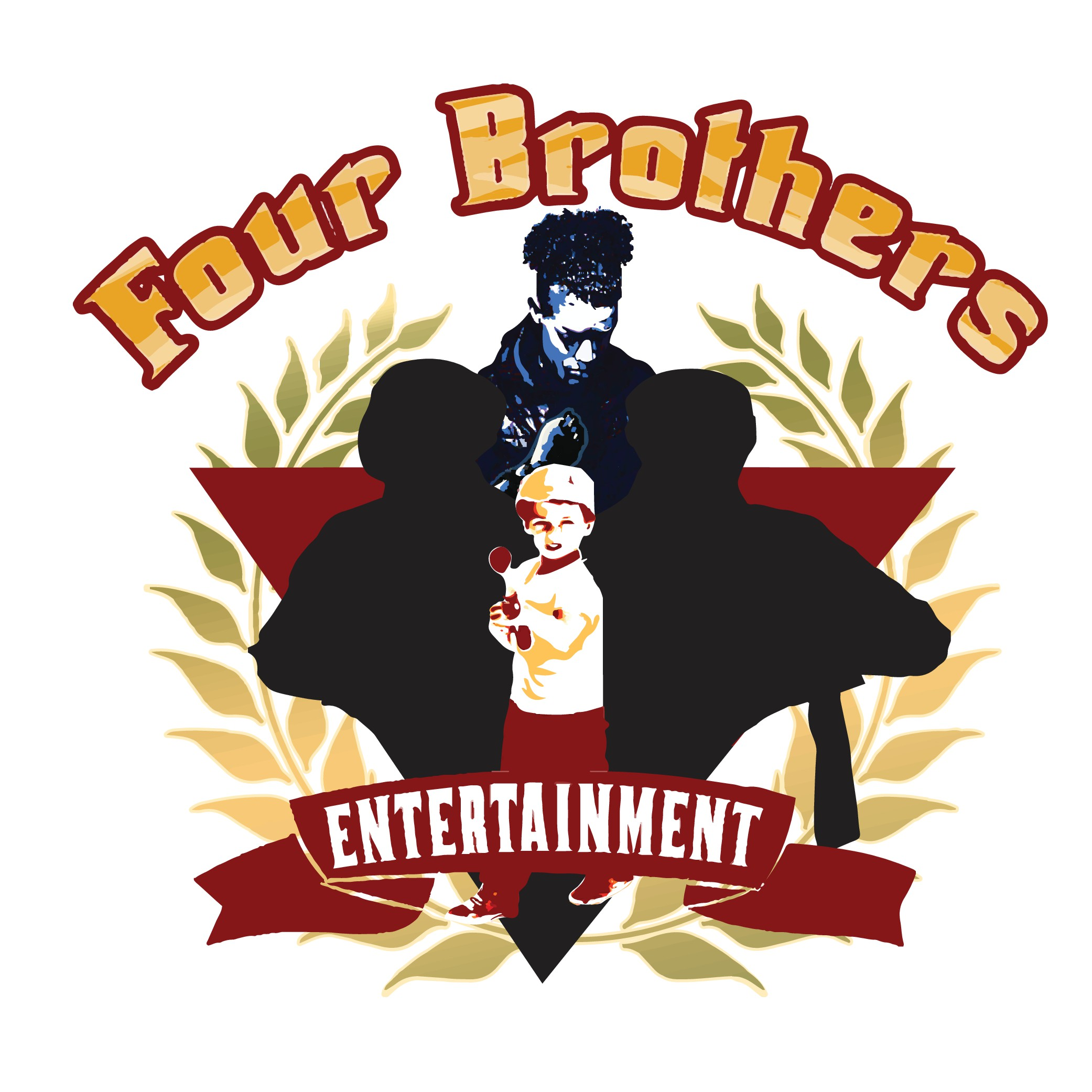 Enhance the current logo for Four Brothers Entertainment