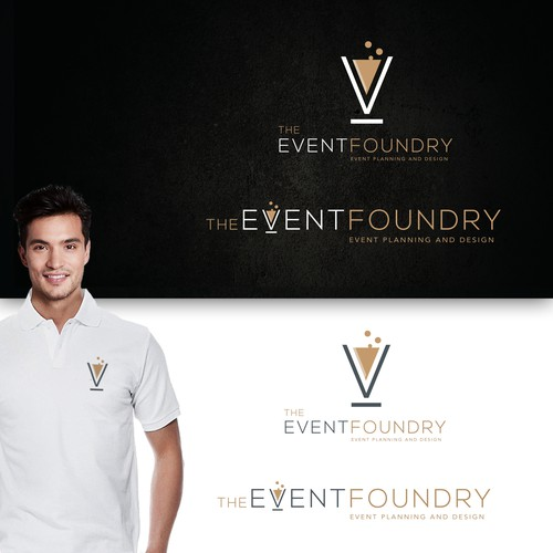 Logo for an event company