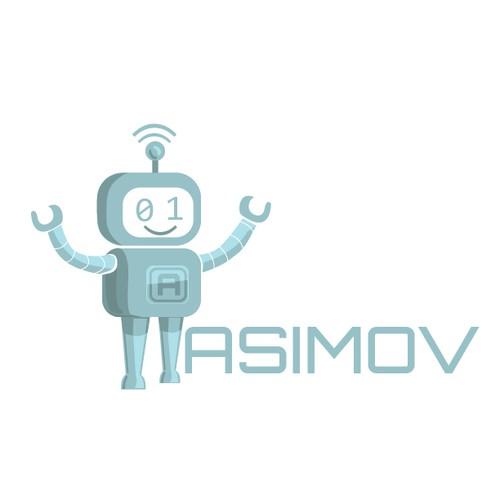Asimov Logo Design