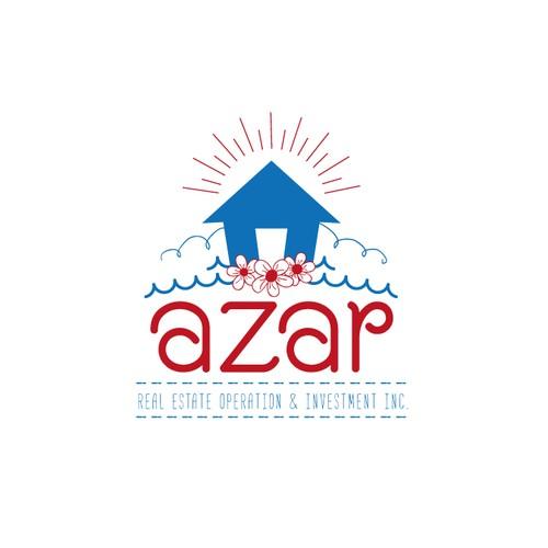 azar logo design