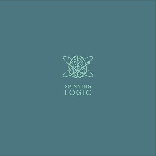 Logo design concept for a podcast