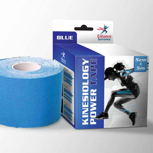 Design a Sports Tape Package Label - Quick turnaround