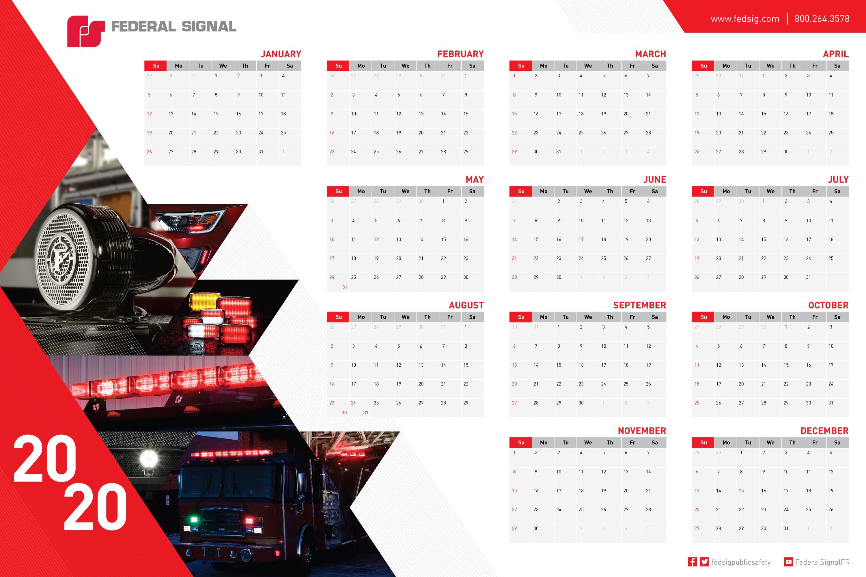 2019 Wall Poster Calendars