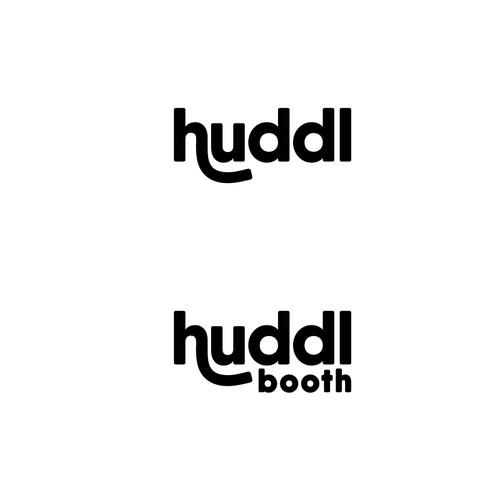 Logo design for huddl booth