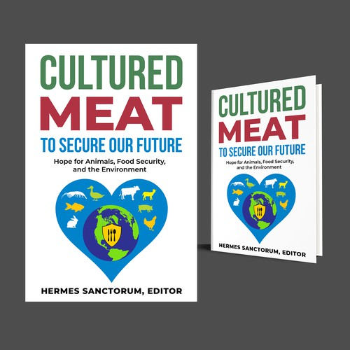 Cover for Book on Cultured Meat