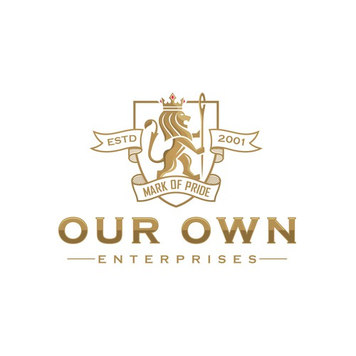 Powerful 'Our Own Enterprises' logo design