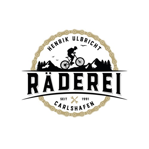 Logo for a bike shop.
