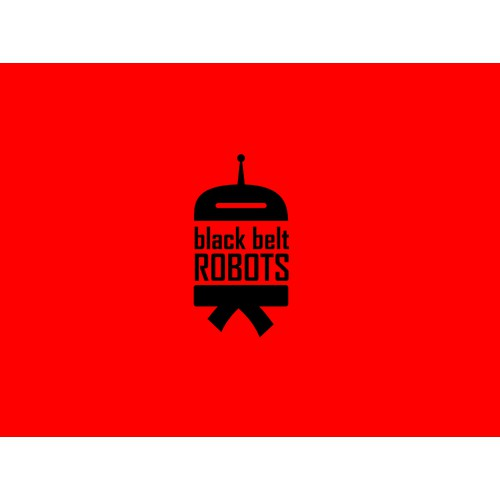Create the next logo for black belt robots (guaranteed)